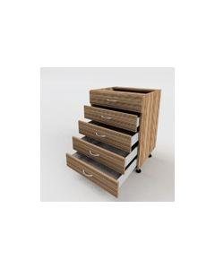 Szafka z pięcioma szufladami 1;1;1;1;1